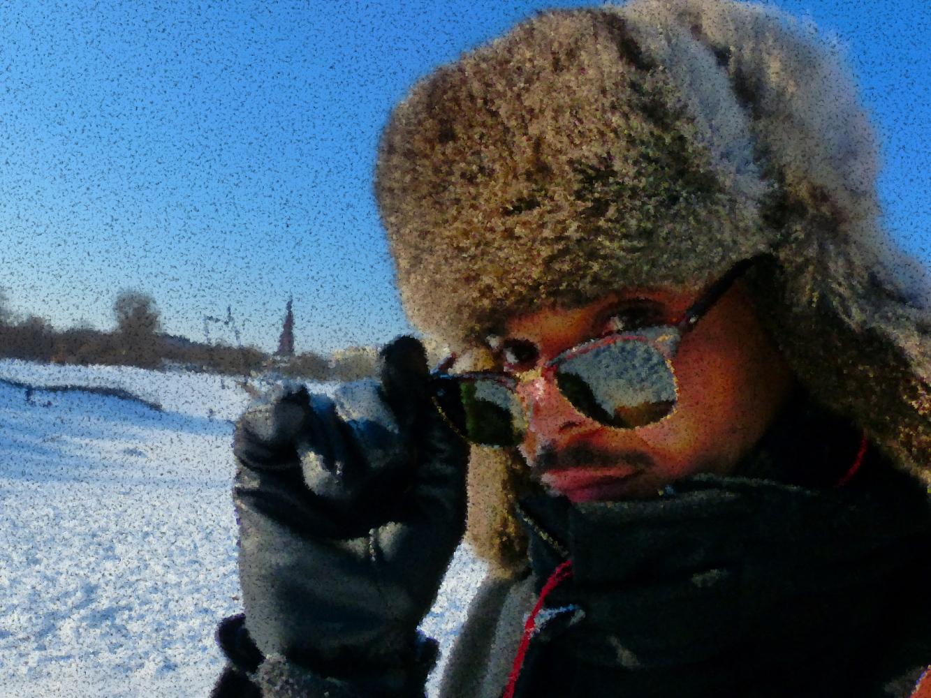 Berliniquais dans la neige