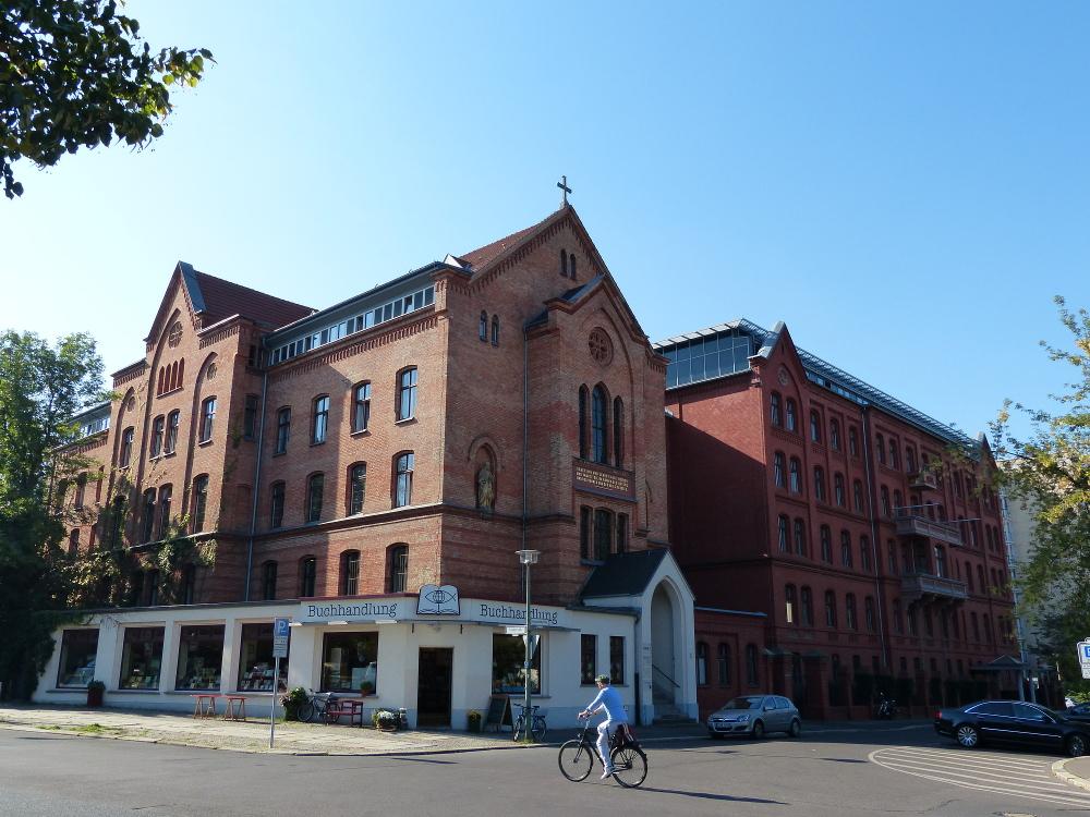 Le siège épiscopal de l'Église régionale de Berlin-Brandebourg, à l'église St-Georges