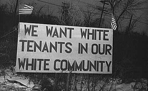 Discrimination White Tenants (copy)
