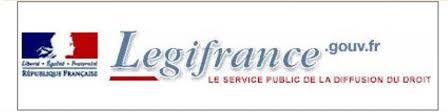 Merci Légifrance.