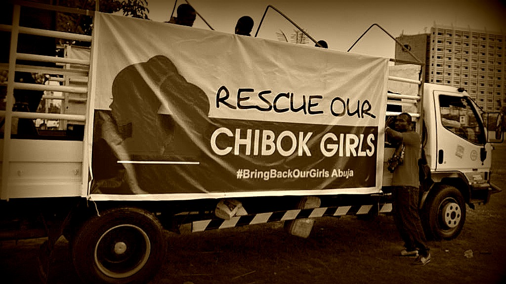 Bring Back Our Girls Truck © Medina Dauda Wikimedia Commons