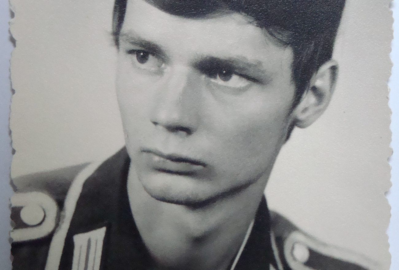 Roland Egersdörfer en 1975. Crédit Roland Egersdörfer
