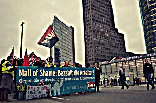 Article : À Berlin, les forçats du «Mall de la honte» veulent être payés