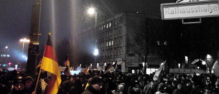 Article : Une soirée avec les xénophobes de «Pegida» à Berlin