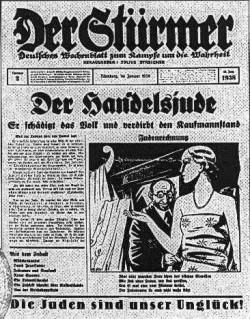 """1937 : """"Les Juifs sont notre malheur!"""""""